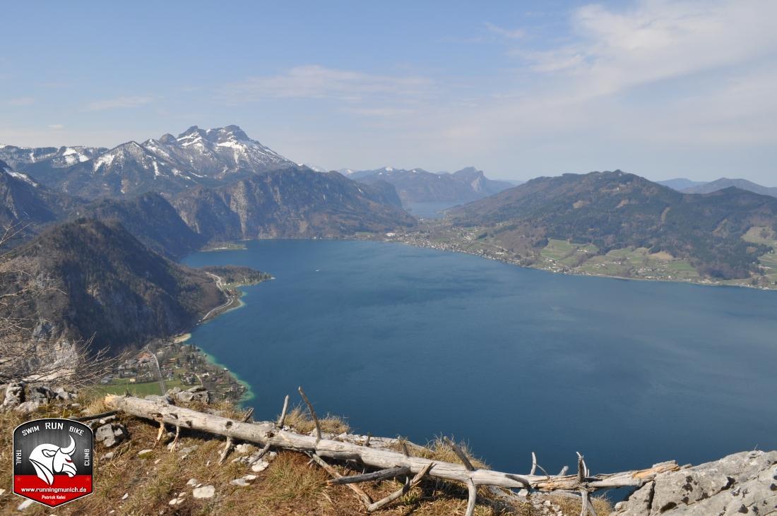 Klettersteig Mahdlgupf : Attersee klettersteig mahdlgupf youtube